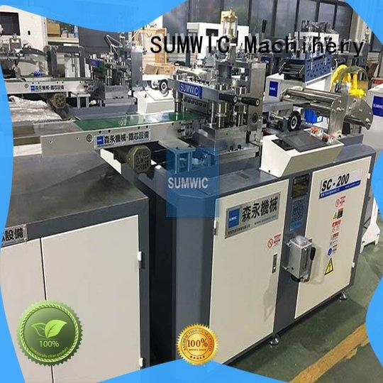 machine cut to length line machine manufacturer for industry SUMWIC Machinery
