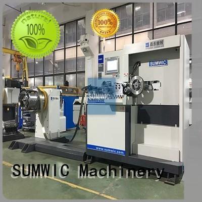 steps wound sumwic rcw transformer winding machine SUMWIC Machinery