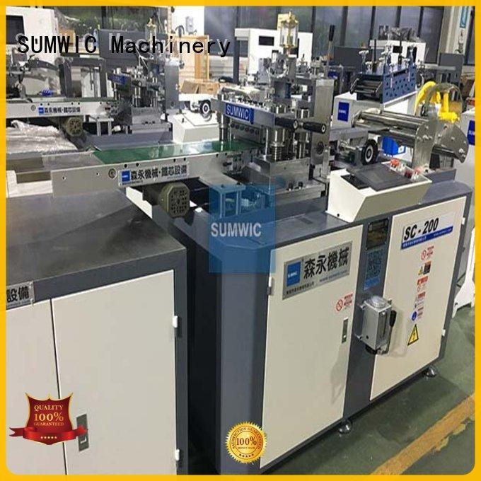 SUMWIC Machinery Brand strip line cut to length machine manufacture
