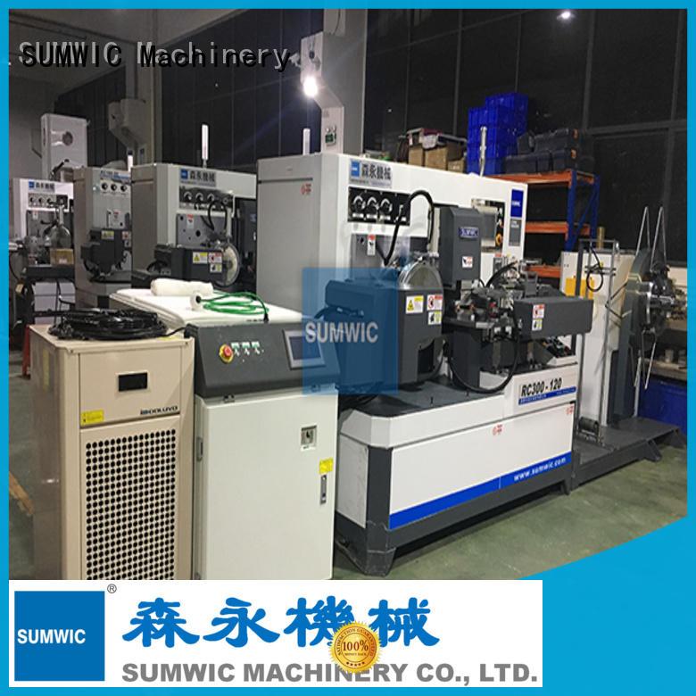 toroidal core winding machine transformer sheet sumwic SUMWIC Machinery Brand toroidal winding machine