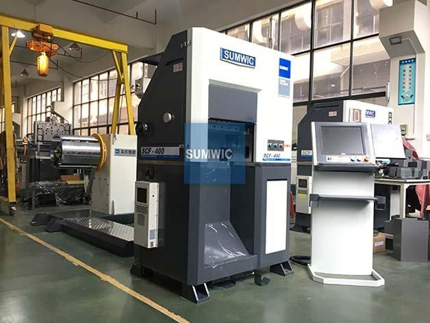 Wound Core Folding Machine for Unicore SUMWIC SCF-400
