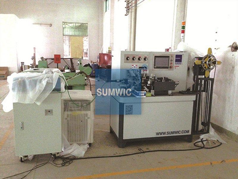 The RC50-20 toroidal core winding machine for small core for Foshan's Customer.