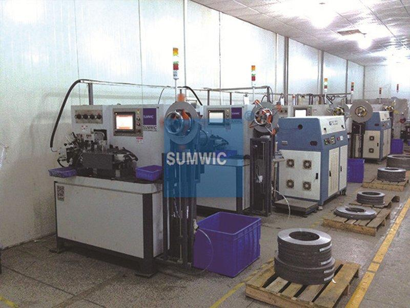 Six sets toroidal core winder match two laser welder with 3 laser cable for Guangzhou's Customer