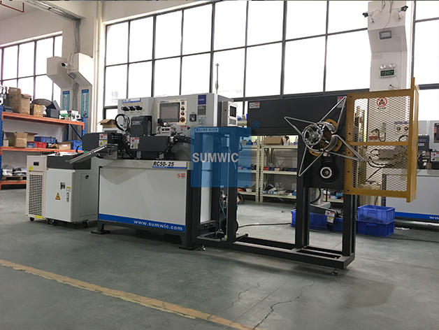 SUMWIC RC50-25 Automatic Toroidal Core Winder for CT Core