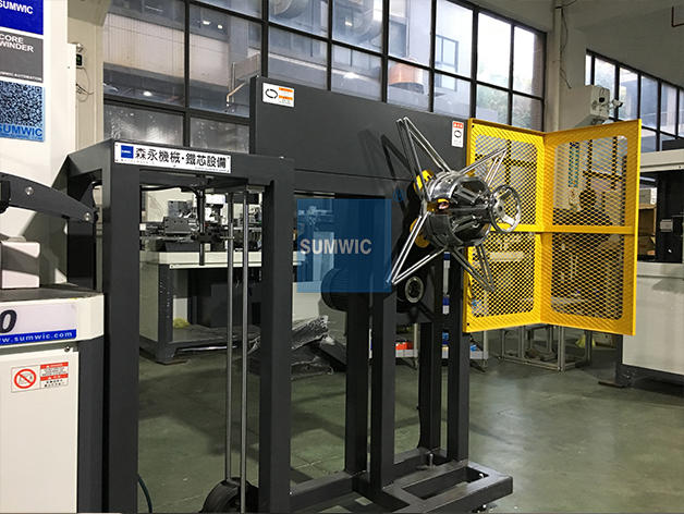 toroidal sheet max toroidal winding machine SUMWIC Machinery Brand