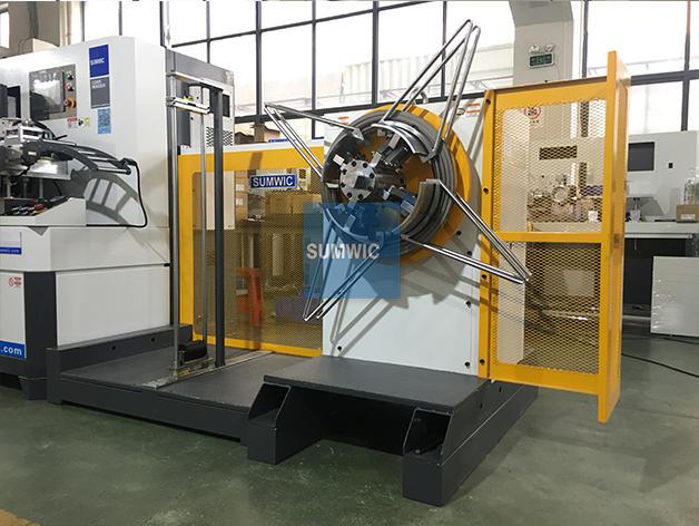 toroidal core winding machine ct machine od SUMWIC Machinery Brand company