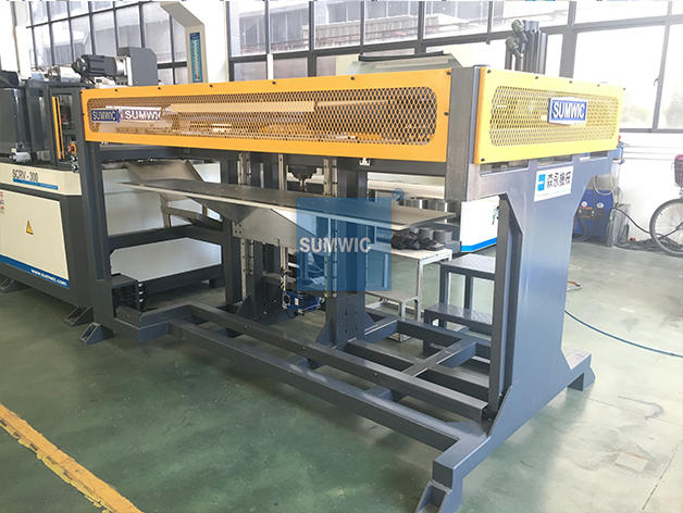 transformer machine core cutting machine core distribution SUMWIC Machinery company