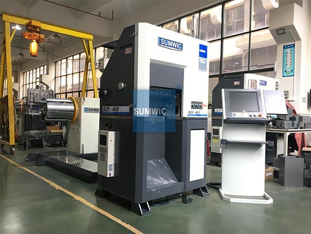 core winding machine cutting machine SUMWIC Machinery Brand