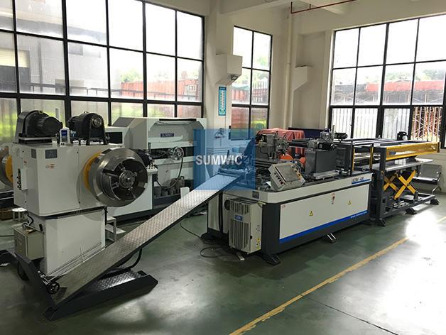 Automatic Transformer Core Cutting Machine for Step-Lap Core SCRV-420