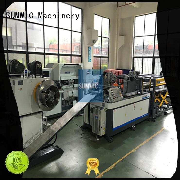 cut to length line machine transformer sumwic core cutting machine manufacture
