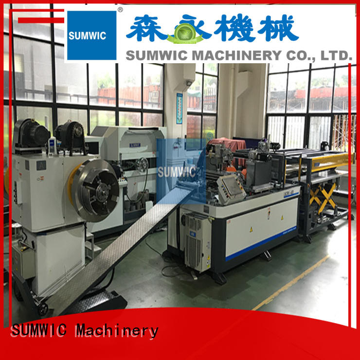 line automatic cut to length line machine SUMWIC Machinery Brand