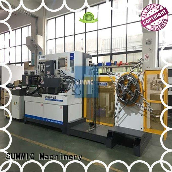 Quality SUMWIC Machinery Brand toroidal core winding machine big toroid