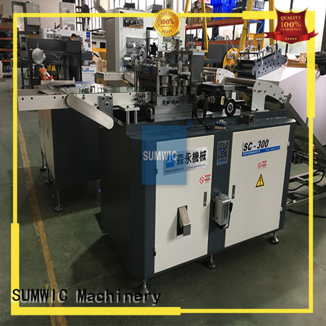 Quality SUMWIC Machinery Brand cutting cut to length machine