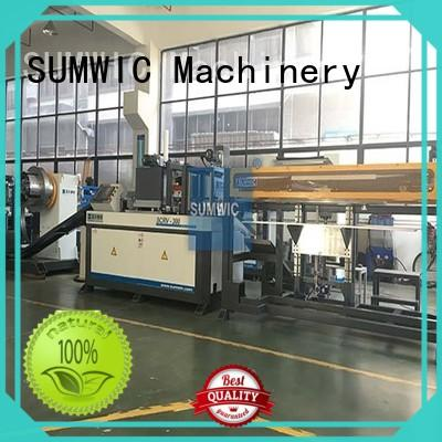 SUMWIC Machinery line cut to length line distribution for Step-Lap