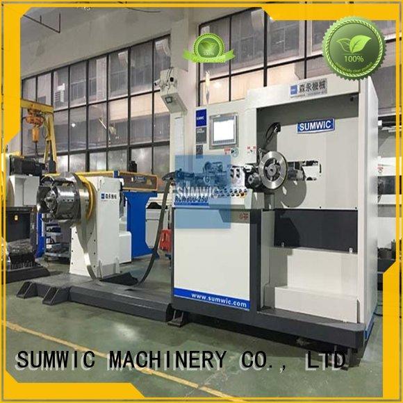 opens steps transformer core machine SUMWIC Machinery Brand