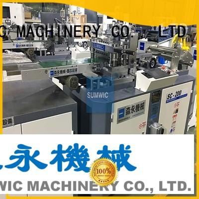 SUMWIC Machinery automatic cut to length silicon for factory