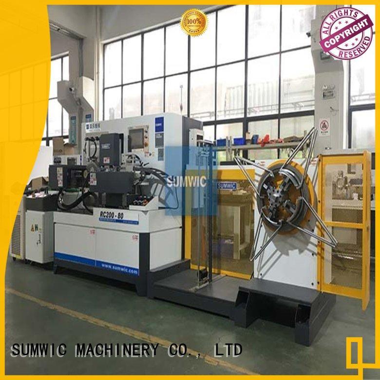 sheet big toroidal core winding machine SUMWIC Machinery manufacture