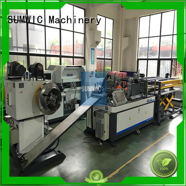 cut to length line machine machine SUMWIC Machinery Brand core cutting machine