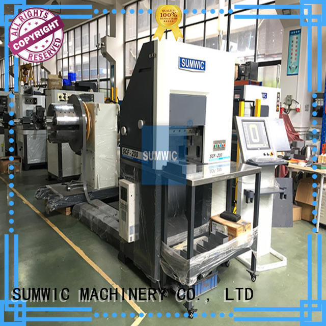 unicore step lap core cutting machine with the new technology for Single Phase SUMWIC Machinery