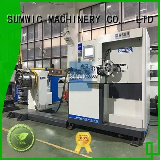 core transformer winding machine winding SUMWIC Machinery company