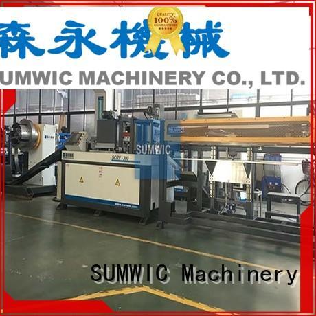 cut to length line machine steplap cutting SUMWIC Machinery Brand core cutting machine