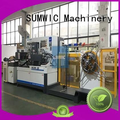 transformer toroidal winding machine sales for CT Core SUMWIC Machinery