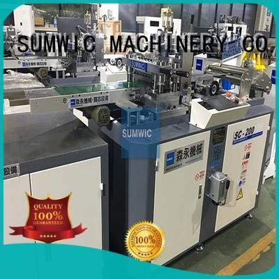 SUMWIC Machinery Brand strip silicon hole cut to length machine