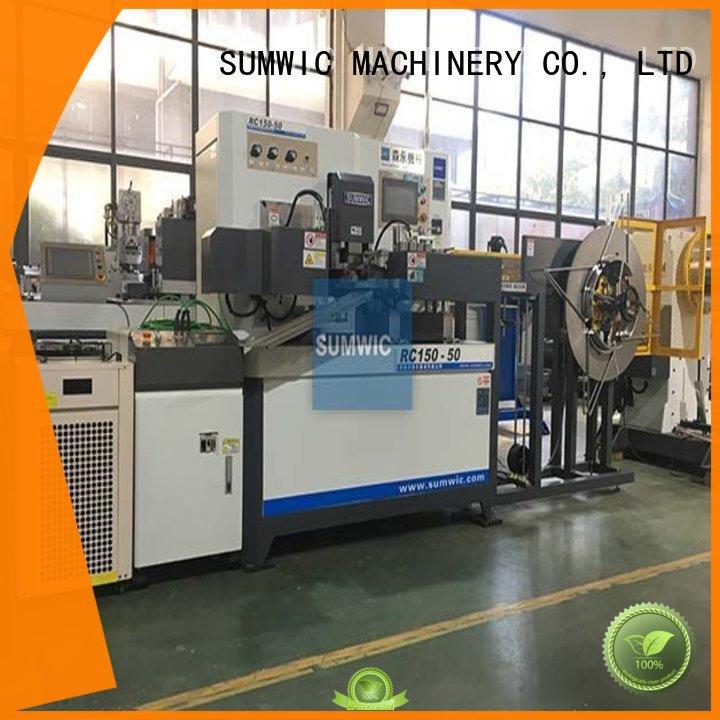 sheet winder winders transformer toroidal winding machine SUMWIC Machinery