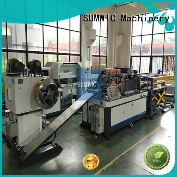 SUMWIC Machinery Brand cutting step automatic cut to length line machine