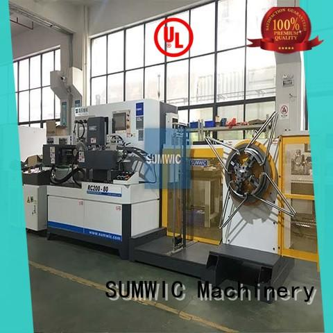 SUMWIC Machinery automatic core winding machine on sales for Toroidal Current Transformer Core