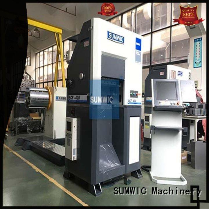 unicore cutting single phase SUMWIC Machinery Brand rectangular core machine supplier
