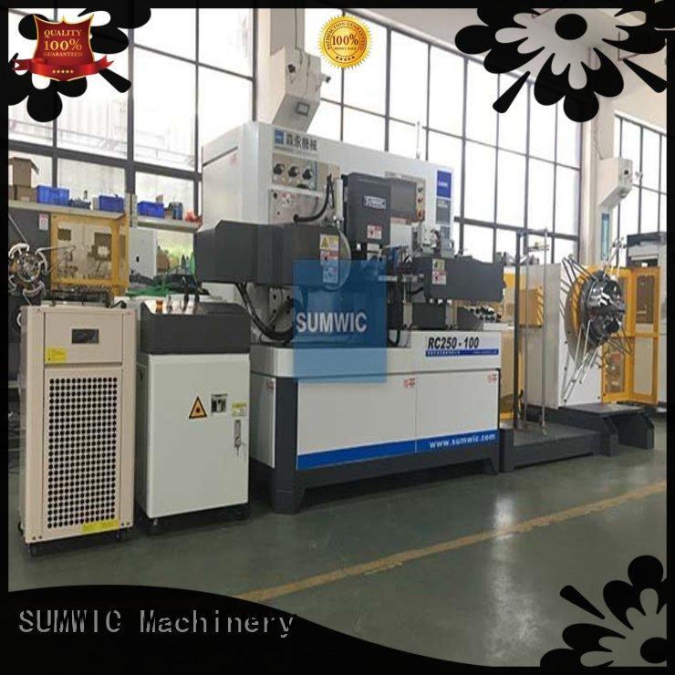 toroidal core winding machine winders sheet SUMWIC Machinery Brand