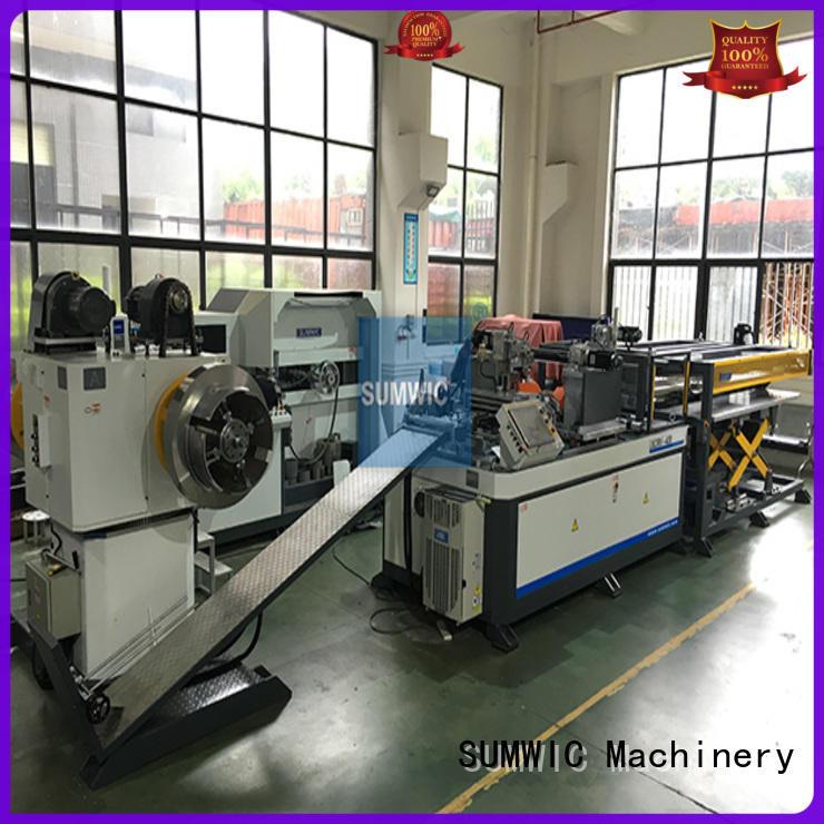 line core distribution cut to length line machine SUMWIC Machinery manufacture