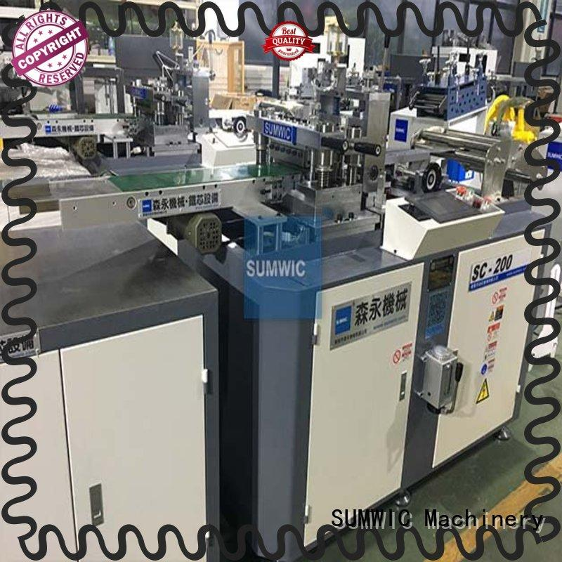 SUMWIC Machinery productivity cut to length machine wholesale for industry