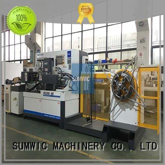 automatic toroidal machine current toroidal winding machine SUMWIC Machinery
