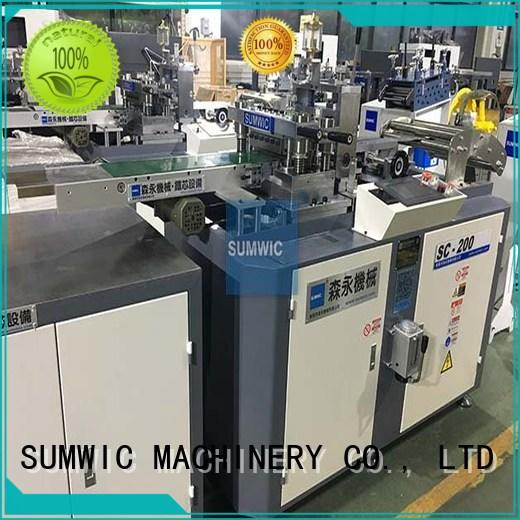 SUMWIC Machinery Brand cut machine lamination cut to length machine manufacture