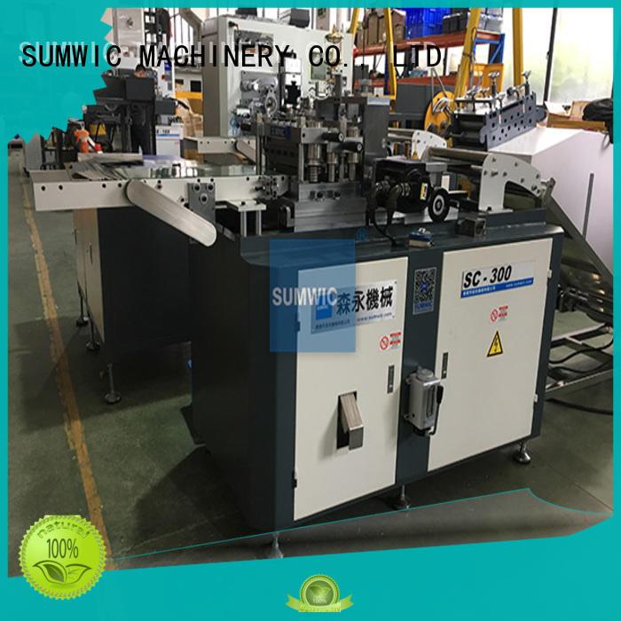 cut to length line machine hole cut degree SUMWIC Machinery Brand company