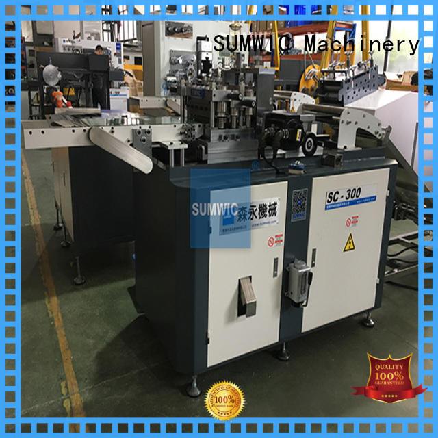 SUMWIC Machinery Brand cutting degree hole cut to length machine manufacture
