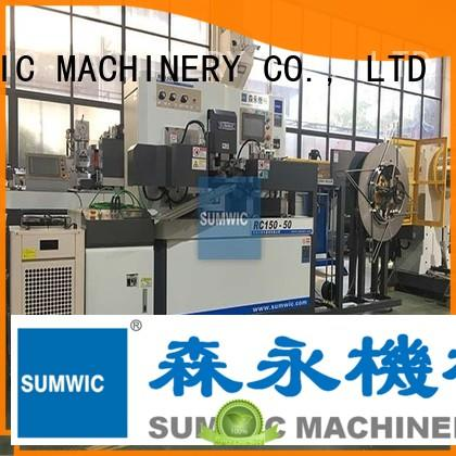 winder silicon toroidal winding machine sumwic transformer SUMWIC Machinery company