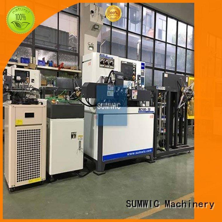 transformer automatic toroidal winding machine crgo winders SUMWIC Machinery company