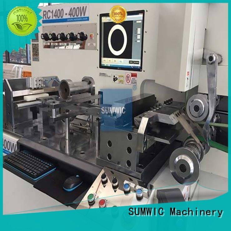 steps making machine SUMWIC Machinery Brand transformer core machine manufacture