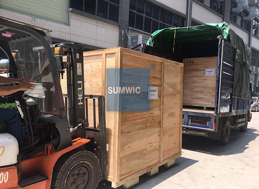 We packed and shipped RC150-50 automatic toroidal core winder to Sri Lanka.