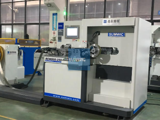 Wound Core Winding Machine For DG Core RCW800-250