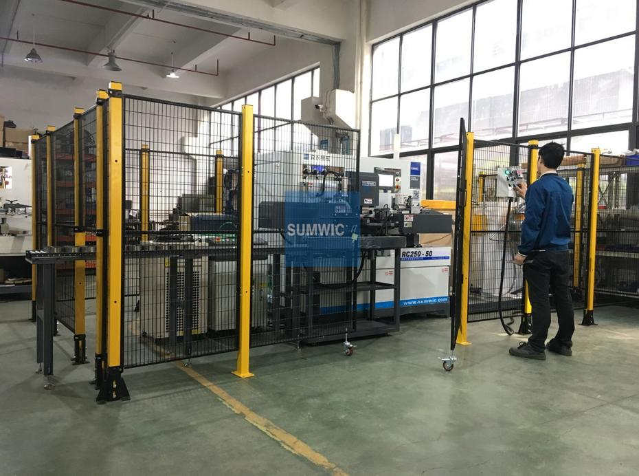 RC250-50 Automatic Toroidal Core Winder for SADTEM in France