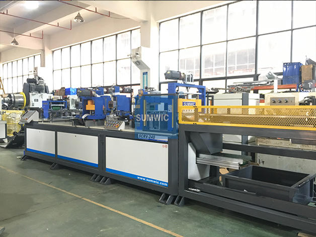 SCRV-240 Automatic Step Lap Core Cutting Line for Distribution Transformer