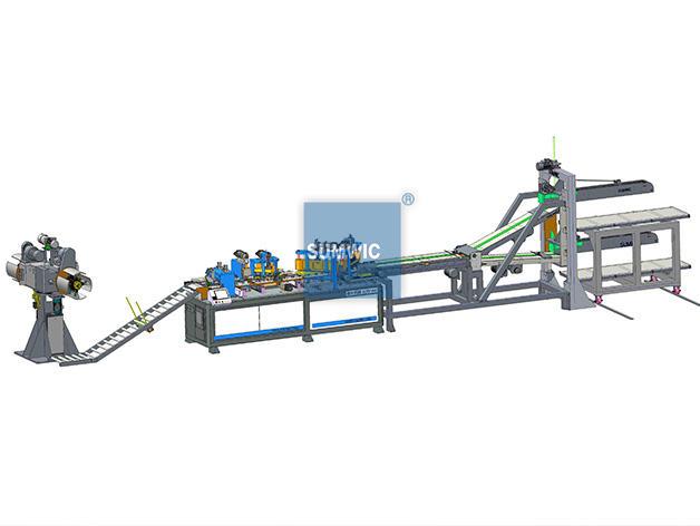 Automatic Transformer Core Cutting Machine for Step-Lap Core SCRV-440