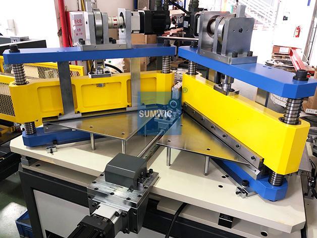 Step Lap Core Cutting Line for Distribution Transformer SUMWIC SCRV-340